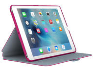 Калъфи за таблети Speck iPad Air Pro 9.7 StyleFolio, Fuchsia Pink/Nickel Grey