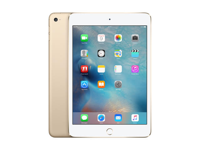 Таблети Apple iPad mini 4 Wi-Fi 128GB, златист цвят