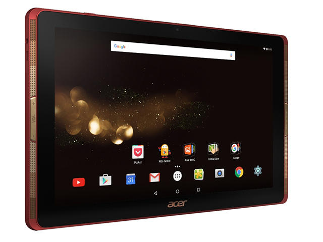 Таблети Acer Iconia Tab 10 (A3-A40) 64GB, червен цвят