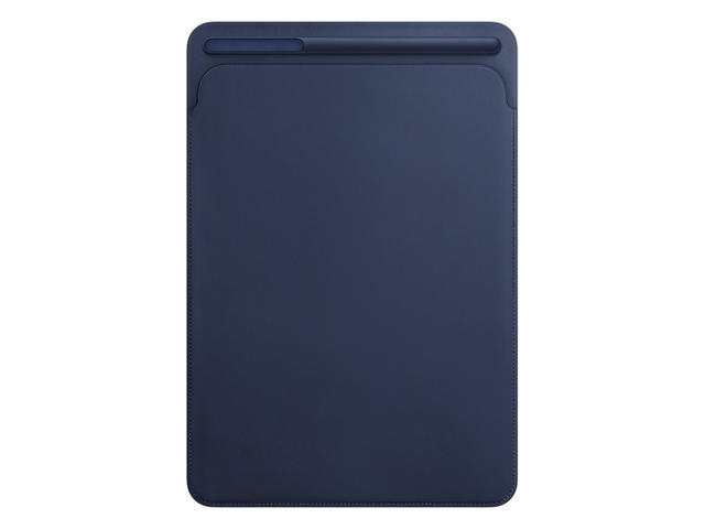 Калъфи за таблети Apple Leather Sleeve за 10.5‑инчов iPad Pro - Midnight Blue