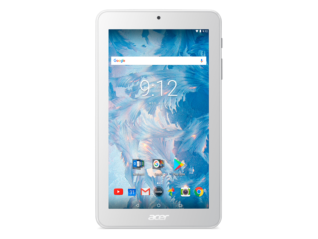 Таблети Acer Iconia One 7 (B1-7A0) 16GB, бял цвят