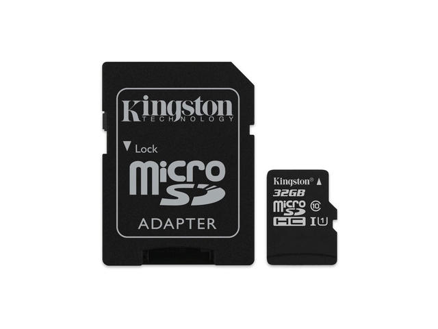 Карти памет 32GB microSDHC Kingston Canvas Select Class 10
