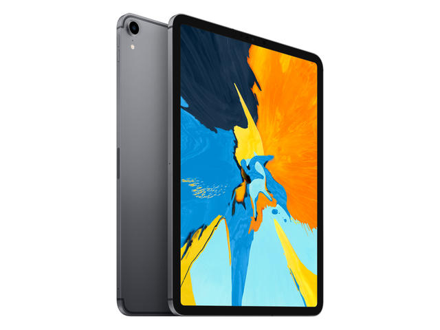 Таблети Apple iPad Pro 11''(2018) Wi-Fi + Cellular 64GB, сив цвят
