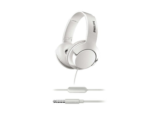 Слушалки Philips BASS+ SHL3175WT