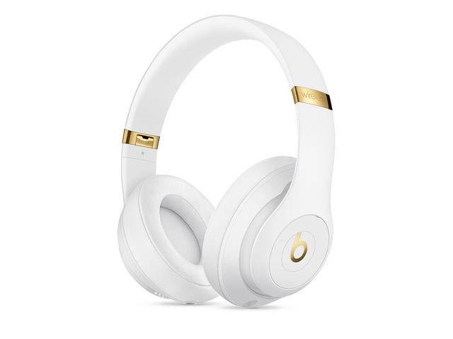 Слушалки Beats Studio3 Wireless Over‑Ear Headphones - White