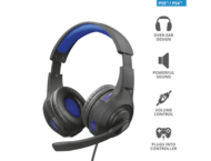 Слушалки TRUST GXT 307B Ravu Gaming Headset for PS4/ PS5, blue