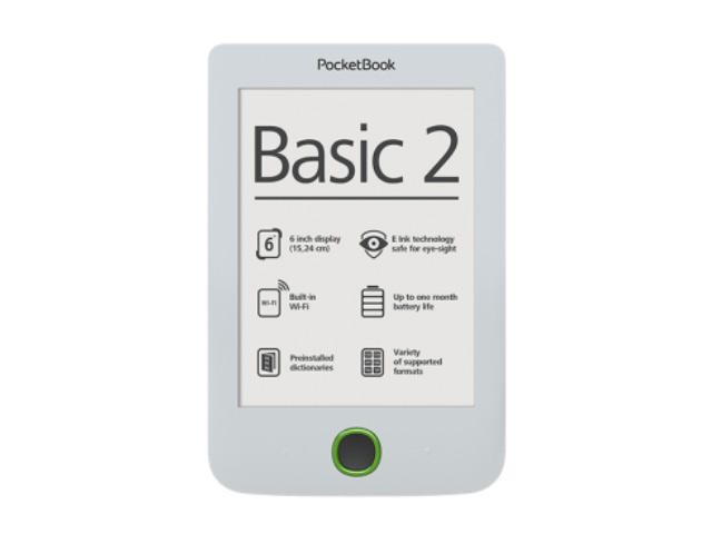 E-reader PocketBook Basic 2 PB614, в бяло