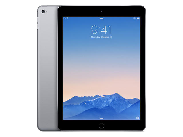Таблети Apple iPad Air 2 Wi‑Fi + Cellular 16GB, сив цвят