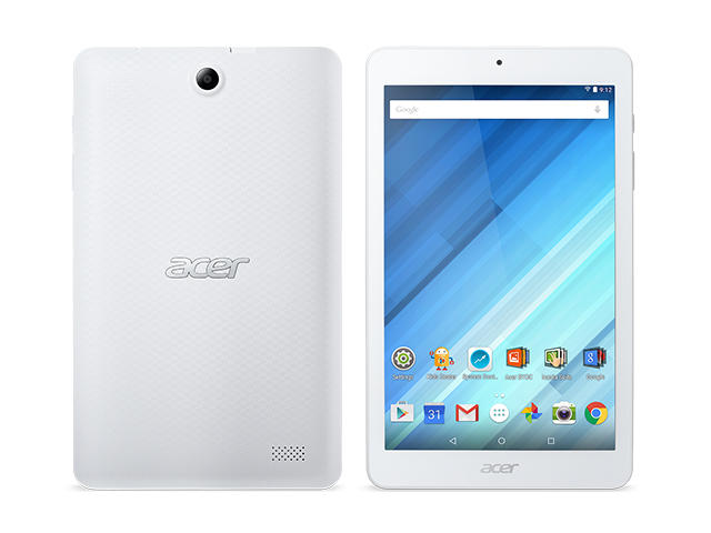 Таблети Acer Iconia One 8 (B1-850) 16GB, бял цвят